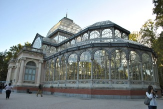 Crystal Palace in Madrid's Buen Retiro Park