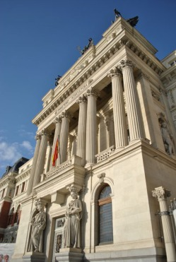 Fomento Palace (the Ministry of Agriculture headquarters) in Madrid
