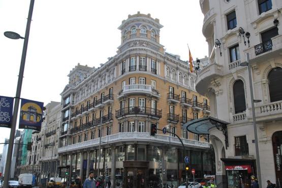 Iberostar Las Letras Hotel on Gran Via in Madrid