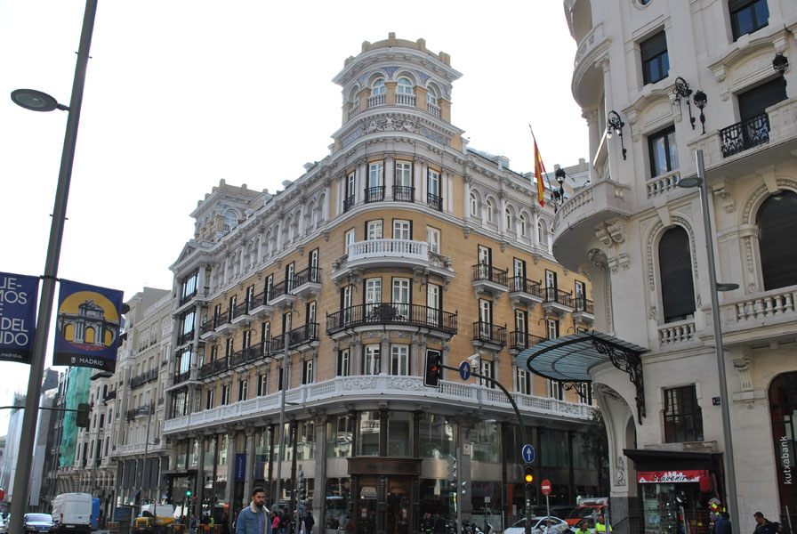 Iberostar Las Letras Hotel on Gran Via in Madrid