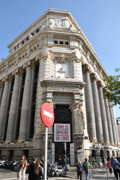Instituto Cervantes in Madrid