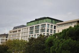 Santalucia Seguros (Insurance) headquarters in Plaza de Espana in Madrid
