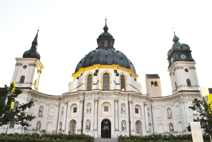 Ettal Abbey in Bavaria