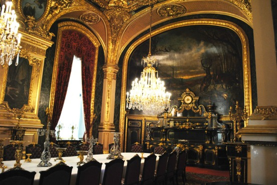 Napoleon III Apartments Dining Room in the Louvre