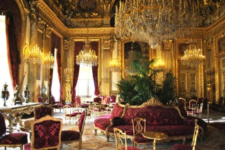 Napoleon III Apartments Grand Salon in Louvre Museum