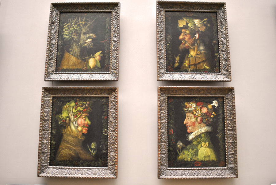 The 4 Seasons by Giuseppe Arcimboldo