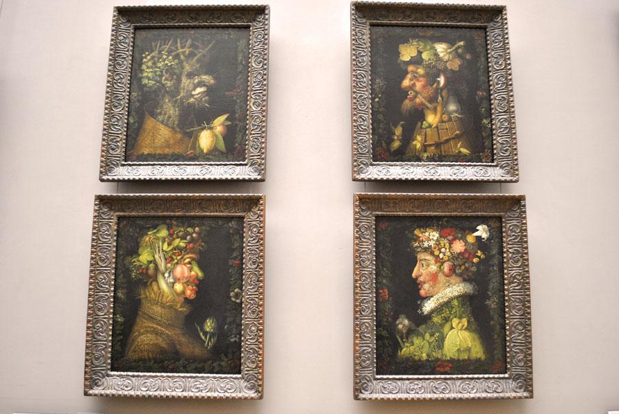 The 4 Seasons by Giuseppe Arcimboldo