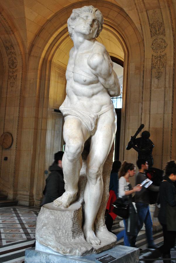 The Rebellious Slave) by Michelangelo Buonarroti